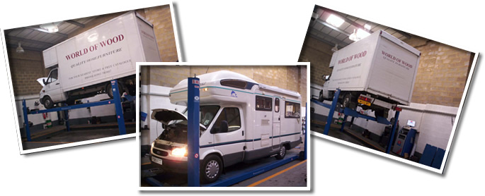 Class 4 and Class 7 MOT testing in Witney